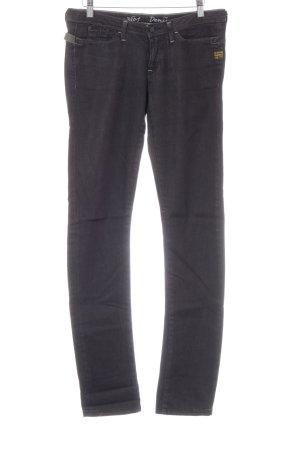 G-Star Raw Slim Jeans schwarz meliert Casual-Look