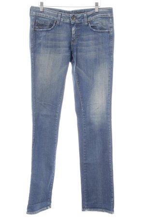 G-Star Raw Slim Jeans stahlblau-hellbeige Casual-Look