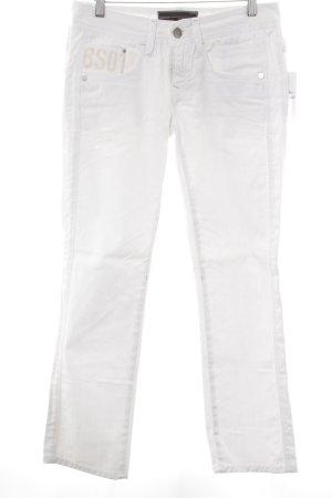 G-Star Raw Slim Jeans weiß sportlicher Stil