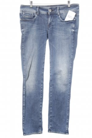 G-Star Raw Slim Jeans wollweiß-stahlblau meliert Casual-Look