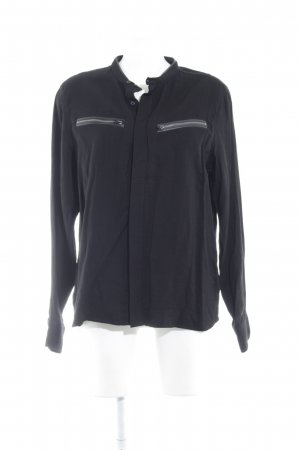G-Star Raw Stand-Up Collar Blouse black casual look