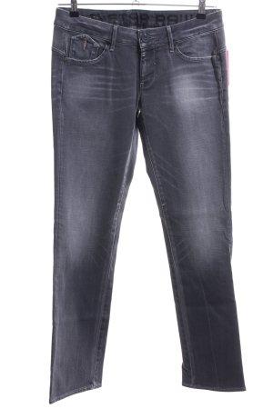 G-Star Raw Straight-Leg Jeans hellgrau Casual-Look