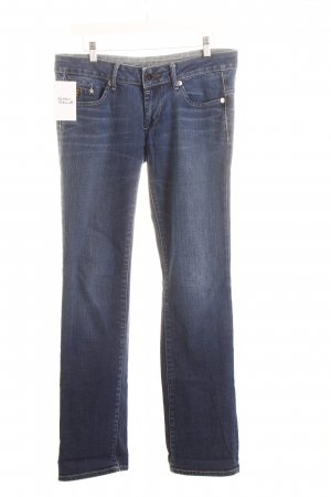 G-Star Raw Straight-Leg Jeans blau sportlicher Stil