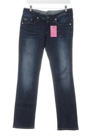 G-Star Raw Straight-Leg Jeans dunkelblau 90ies-Stil