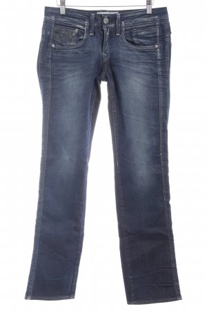 G-Star Raw Straight-Leg Jeans dunkelblau-blassblau Skater-Look