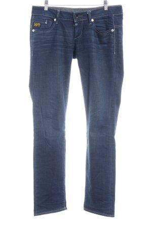G-Star Raw Straight-Leg Jeans dunkelblau Casual-Look
