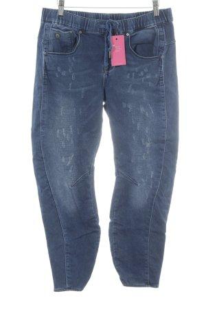 G-Star Raw Straight-Leg Jeans dunkelblau-graublau Casual-Look