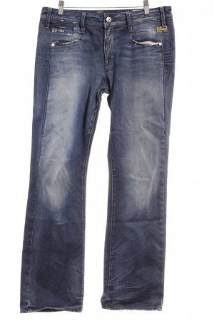 G-Star Raw Straight-Leg Jeans dunkelblau Jeans-Optik