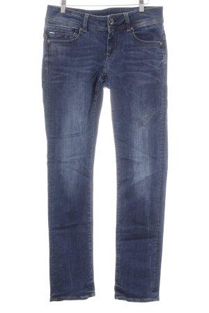 G-Star Raw Straight-Leg Jeans dunkelblau-stahlblau Casual-Look