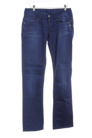 G-Star Raw Straight-Leg Jeans dunkelblau Used-Optik