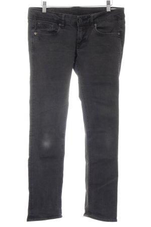 G-Star Raw Straight-Leg Jeans dunkelgrau Casual-Look