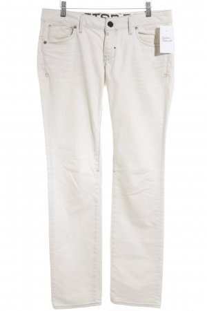 G-Star Raw Straight-Leg Jeans hellbeige Street-Fashion-Look