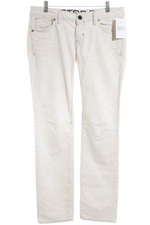 G-Star Raw Straight-Leg Jeans hellbeige Street-Fashion-Look