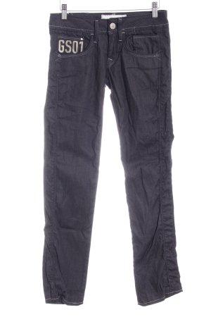 G-Star Raw Straight-Leg Jeans hellgrau-taupe schlichter Stil