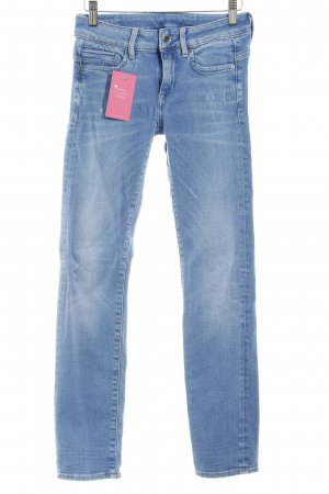 G-Star Raw Straight-Leg Jeans kornblumenblau Casual-Look