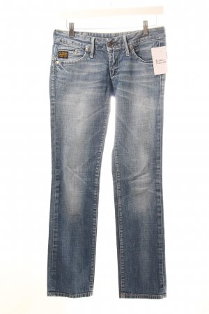 "G-Star Raw Straight-Leg Jeans ""Midge Straight WMN"" blau"