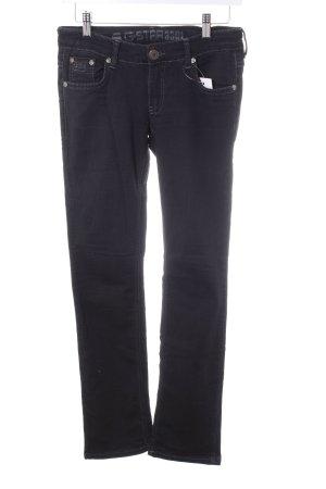 G-Star Raw Straight-Leg Jeans schwarz Casual-Look