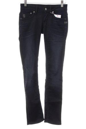 G-Star Raw Straight-Leg Jeans schwarz-dunkelblau Washed-Optik
