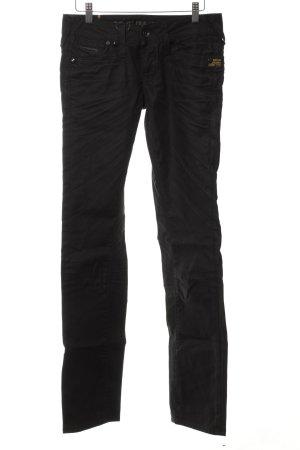 G-Star Raw Straight-Leg Jeans schwarz Street-Fashion-Look
