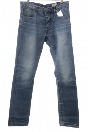 G-Star Raw Jeans coupe-droite bleu acier style décontracté
