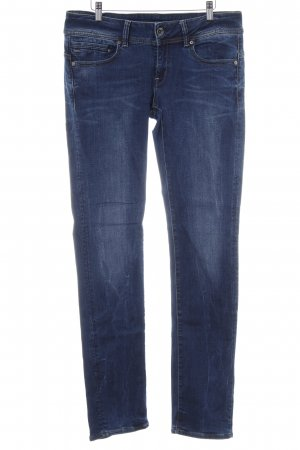 G-Star Raw Straight-Leg Jeans stahlblau Jeans-Optik