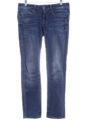 G-Star Raw Straight-Leg Jeans stahlblau-kornblumenblau Casual-Look