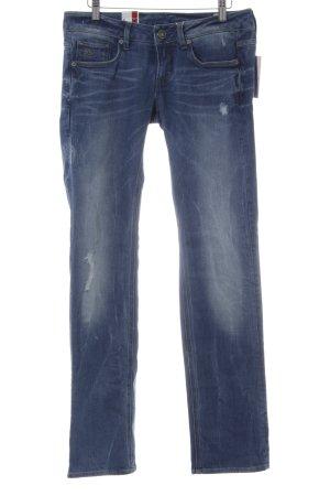 G-Star Raw Straight Leg Jeans steel blue second hand look