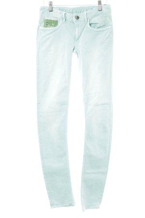 G-Star Raw Straight-Leg Jeans türkis extravaganter Stil