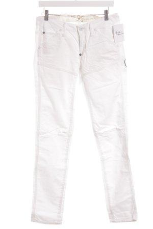 G-Star Raw Straight-Leg Jeans weiß Casual-Look