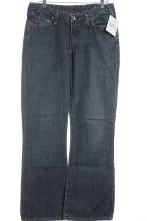 G-Star Raw Straight-Leg Jeans weiß-stahlblau meliert Jeans-Optik