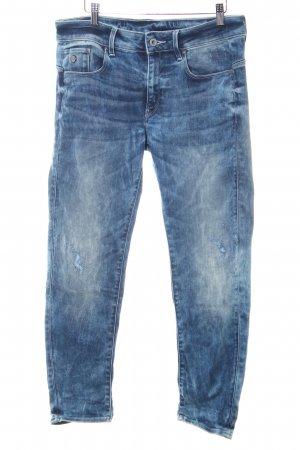 G-Star Raw Stretch jeans blauw-room casual uitstraling