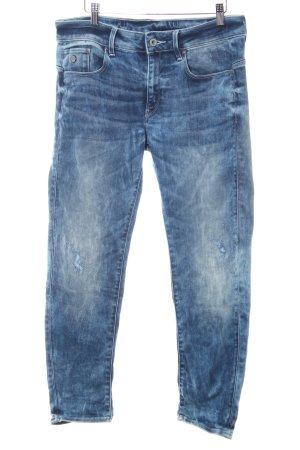 G-Star Raw Stretch Jeans blau-creme Casual-Look