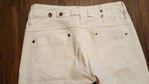 G-Star Raw Pantalon strech blanc
