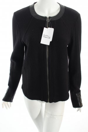 G-Star Raw Strickjacke schwarz Casual-Look