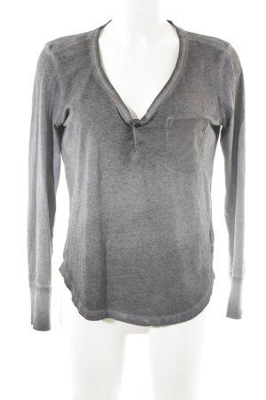 G-Star Raw Sweatshirt anthrazit Washed-Optik