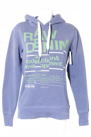 G-Star Raw Sweatshirt blauviolett Casual-Look