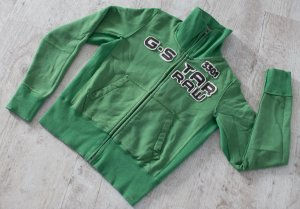 G-Star Chaqueta de tela de sudadera verde Algodón