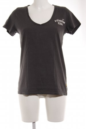 G-Star Raw T-Shirt anthrazit Casual-Look