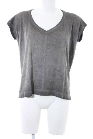 G-Star Raw T-Shirt graubraun Washed-Optik