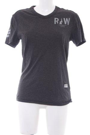 G-Star Raw T-Shirt meliert Casual-Look