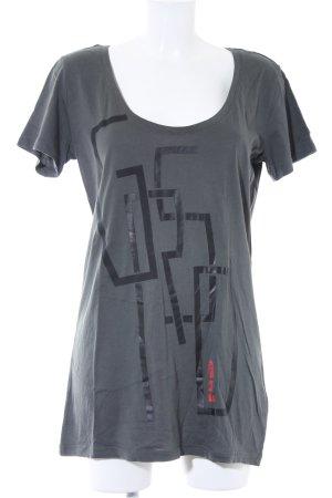 G-Star Raw T-Shirt platzierter Druck Casual-Look