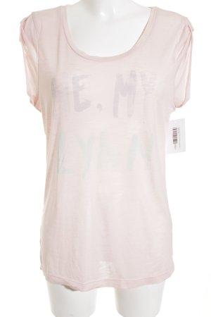 G-Star Raw T-Shirt Schriftzug gedruckt Casual-Look