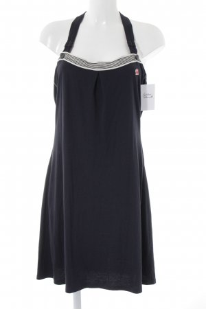 G-Star Raw Trägerkleid dunkelblau-weiß Casual-Look