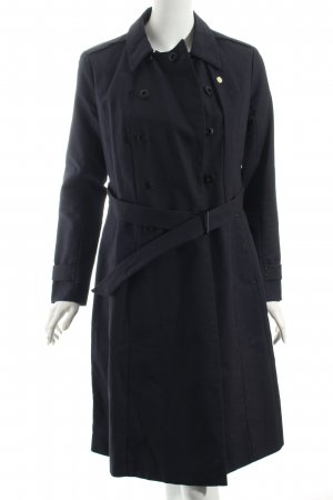 G-Star Raw Trenchcoat dunkelblau Brit-Look