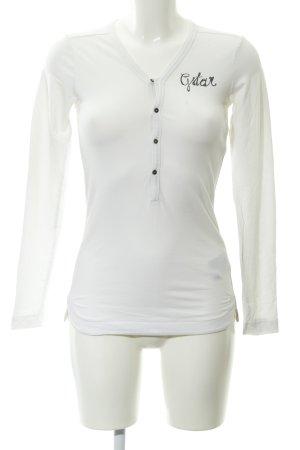 G-Star Raw V-Neck Shirt white street-fashion look
