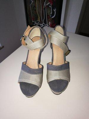 Gstar Wedge Sandals dark blue-azure