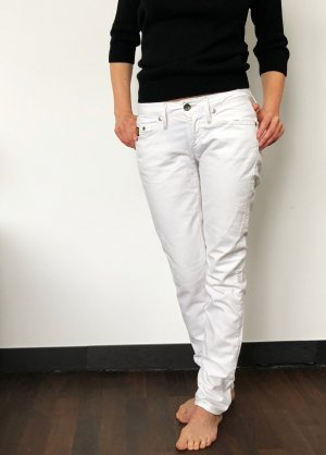 G-Star Raw Low Rise Jeans white