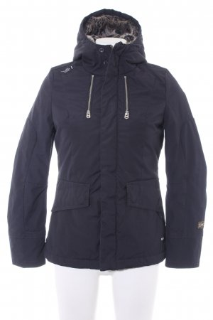 G-Star Raw Winterjacke dunkelblau Casual-Look