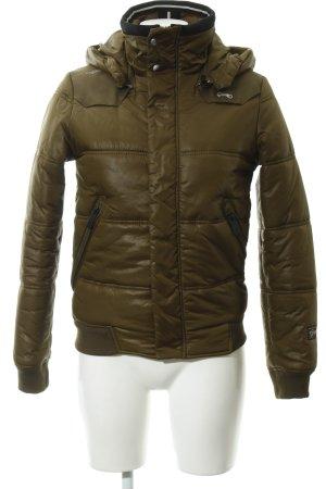 G-Star Raw Winterjacke khaki-olivgrün Street-Fashion-Look