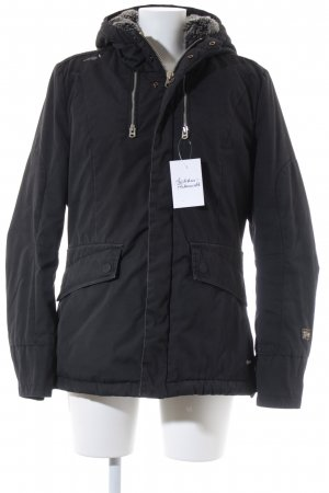 G-Star Raw Winterjacke schwarz Casual-Look
